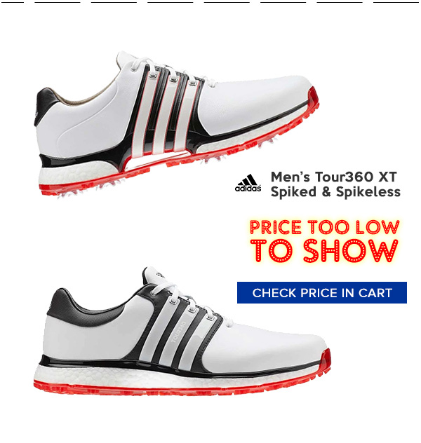 Adidas Tour360 XT Golf Shoes Priced Too Low to Show
