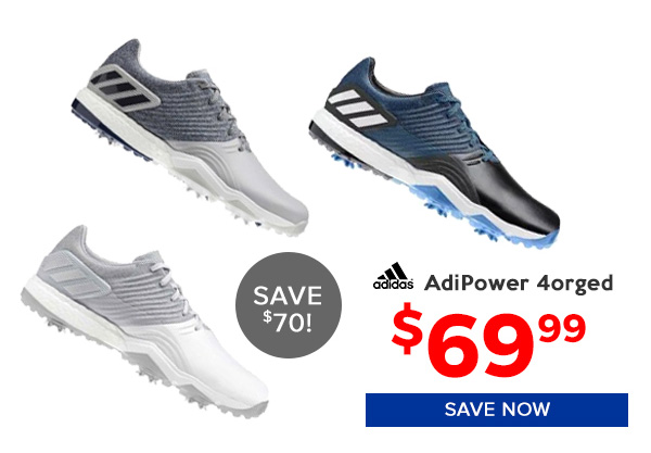 Adidas Adipower 4orged Golf Shoes $69.99, Save $70