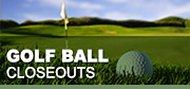 Closeout Golf Balls