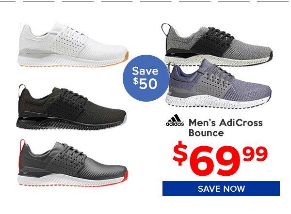 Adidas Adicross Bounce Golf Shoes $69.99, Save $50