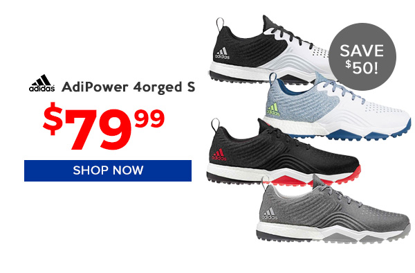Adidas Adipower 4orged S Golf Shoes $79.99, Save $50