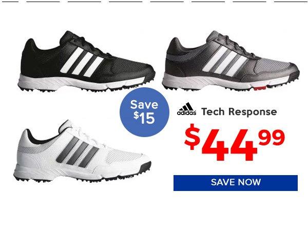 Adidas Tech Response 4.0 Golf Shoes $44.99, Save $15