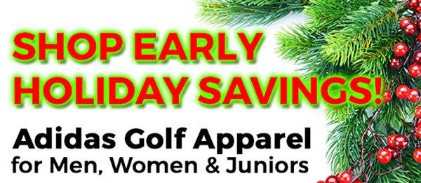 Shop Early Holiday Savings