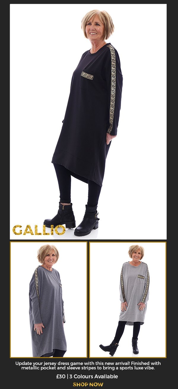 Made in Italy Gallio Dress - Shop Now