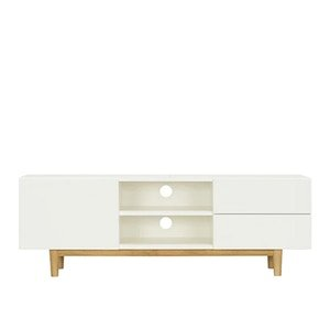 Aalto TV Cabinet 1.6m - White, Natural