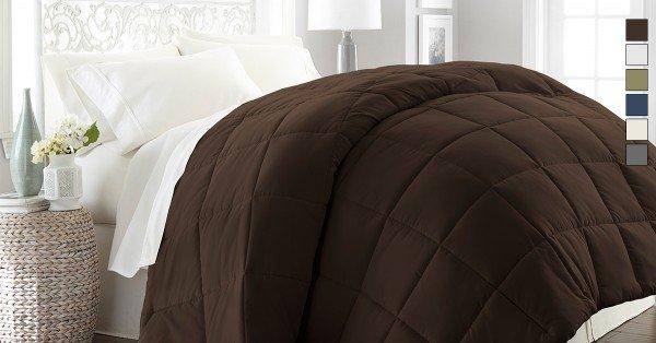Luxurious Becky Cameron Premium Down Fiber Comforter - 6 Colors