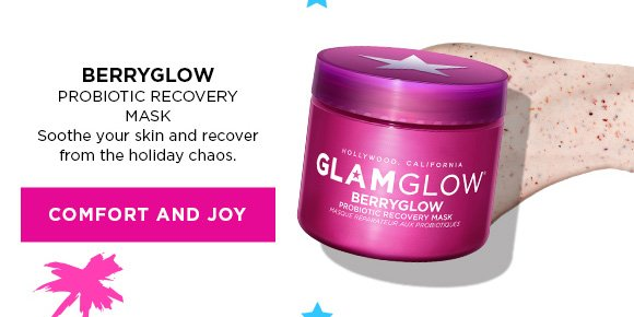BERRYGLOW Probiotic Recovery Mask