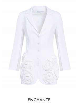 ENCHANTE - WHITE Jacket - Shop Now