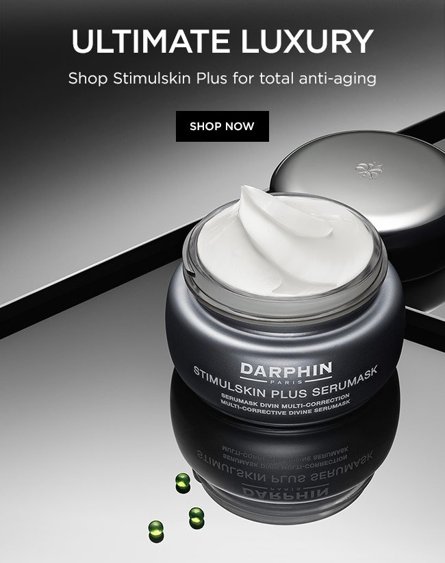 Ultimate luxury. Shop Stimulskin Plus for total anti-aging. Shop Now.