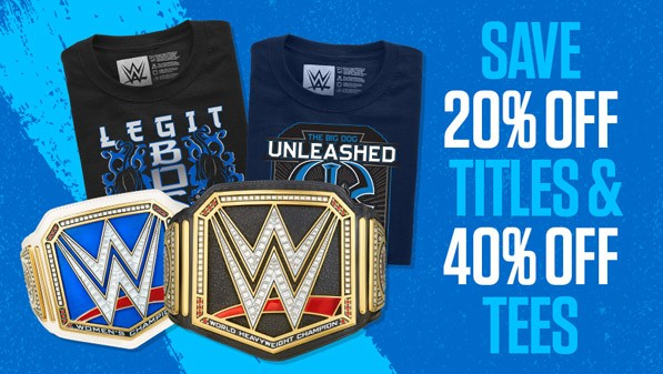 40% off Tees & 20% off Titles