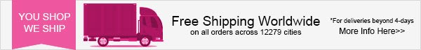 YOU SHOP WE SHIP FREE SHIPPING WORLD WIDE - SEND NOW