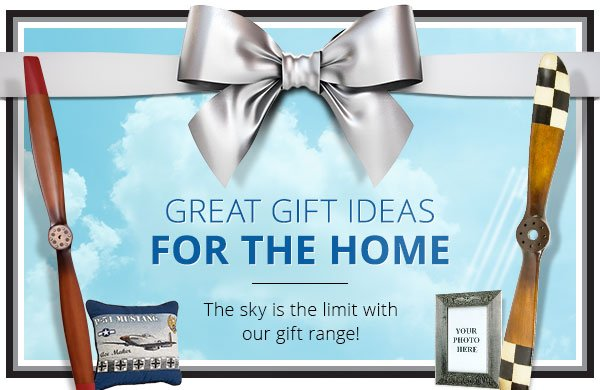 Great gift ideas for the home