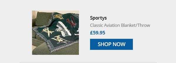 Classic Aviation Blanket / Throw