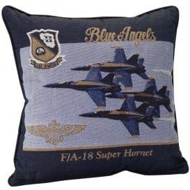 Blue Angels Filled Cushion