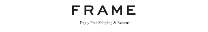 FRAME - Enjoy free shipping and returns