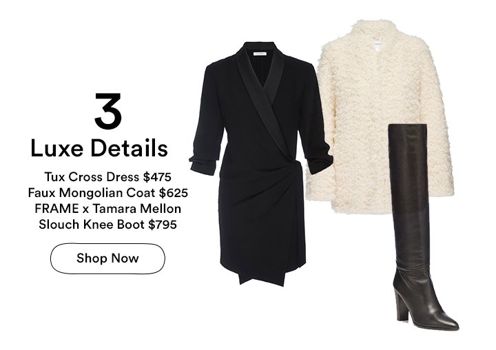 Luxe Look - Shop Holiday Dressing