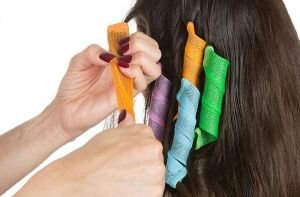 Magic Hair Curlers - 18 Curlers with 2