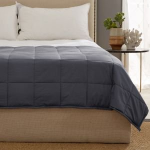 Kathy Ireland Weighted Blanket with Glas