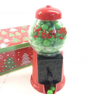 Holiday Personalized Candy Machine