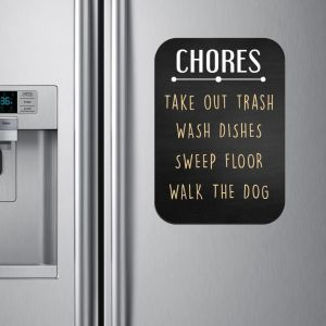 Chores Chalkboard Sign