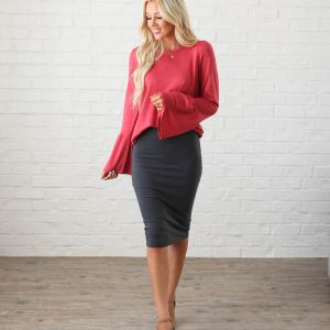 Luxe Pencil Skirts