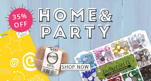 Home & Party Supplies All 35% Off