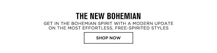 The New Bohemian - Shop Now