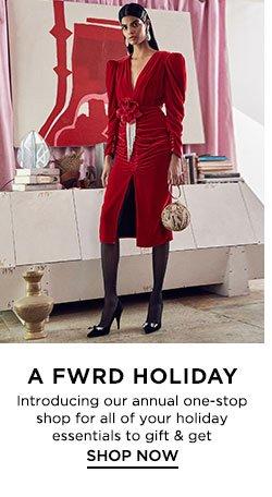 A FWRD Holiday - Shop Now