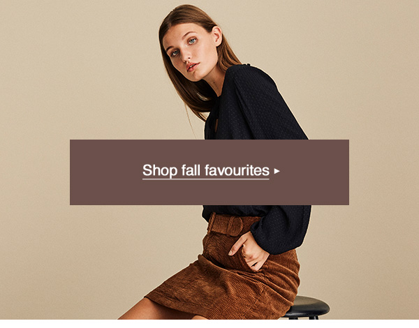 Shop fall favourites