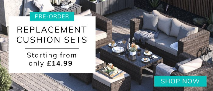 Pre-Order Replacement Cushion Sets - Starting from Only £14.99 - Shop Now