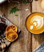 Citrus & Spice Latte