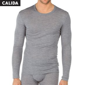 Calida Wool and Silk Shirt Long Sleeve