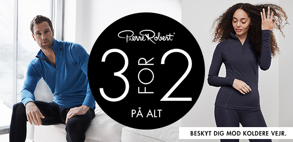 Pierre Robert | 3 for 2 på alt