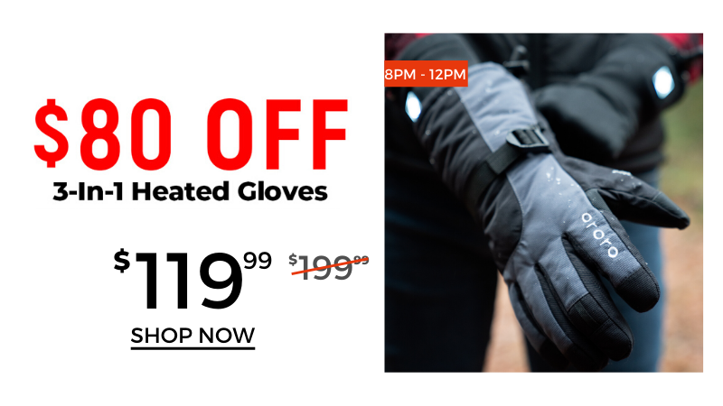 3-in-1 Heated Gloves