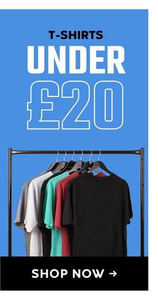 Tshirts Under £20