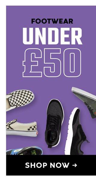 Footwear Under £50