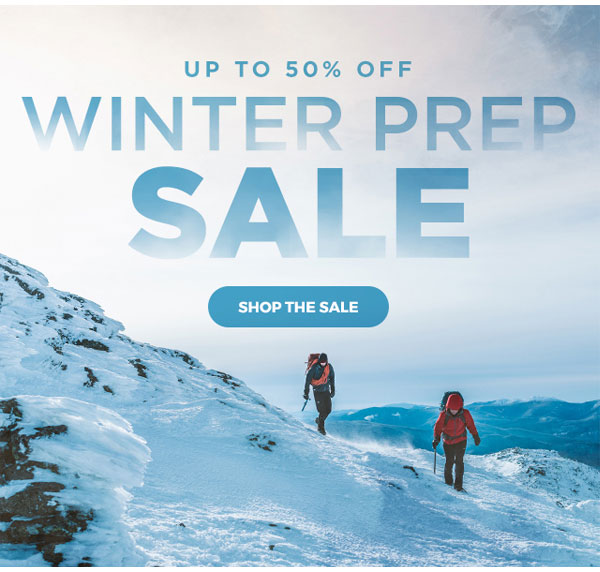 Up to 50% OFF Winter Prep Sale - Click to Shop the Sale