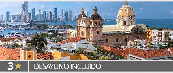 Hoteles 3* en Cartagena
