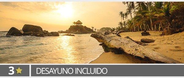 4D/3N Vuelo+Hotel 3* a Santa Marta