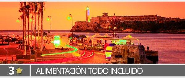 4D/3N Vuelo+Hotel 3* a La Habana