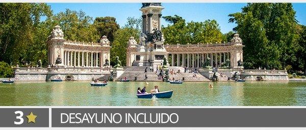 Hoteles 3* en Madrid