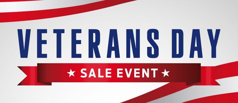Veterans Day Sale Event