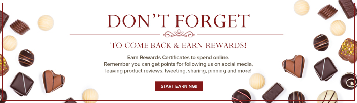 DON'T FORGET  TO COME BACK & EARN REWARDS   START EARNING!