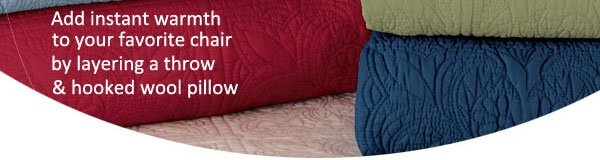 Quilts Add Instant Warmth Tossed on Your Favorite Seat