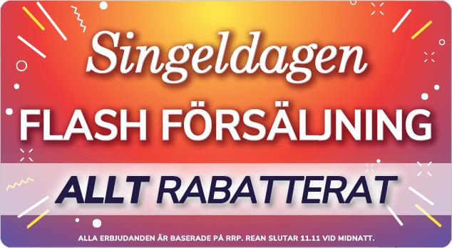 Handla i vår Flash Försäljning Singeldagen till ära.