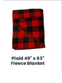 Shop Plaid Fleece Blanket