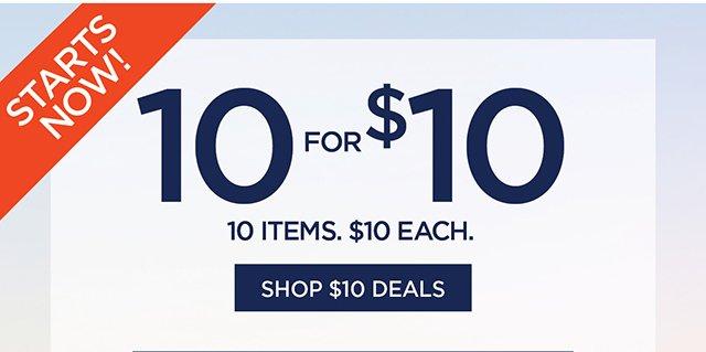 10 for $10 | Shop $10 Deals