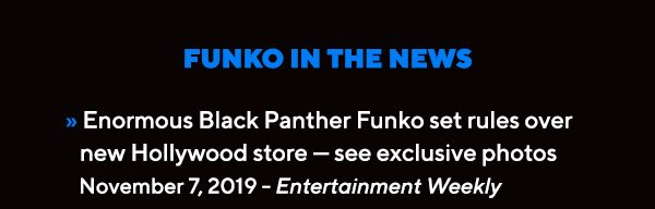 Enormous Black Panther Funko set rules over new Hollywood store — see exclusive photos
