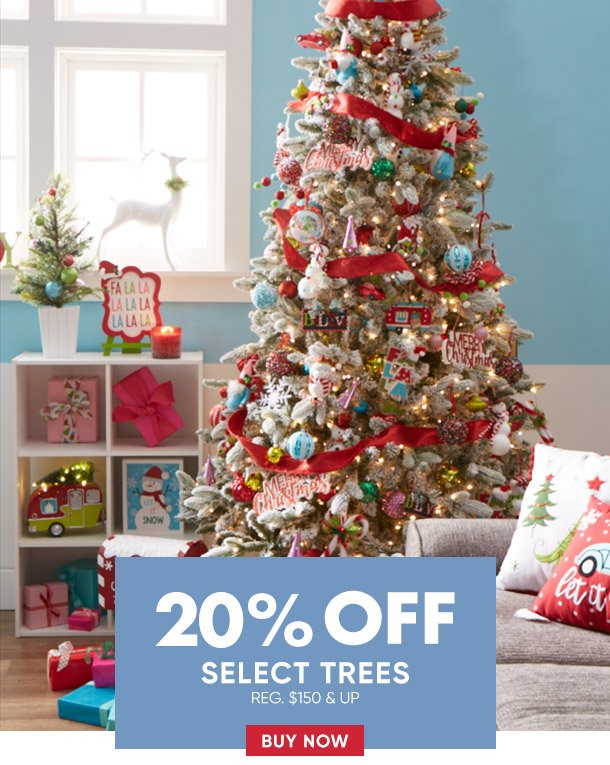 Save 20% on select trees
