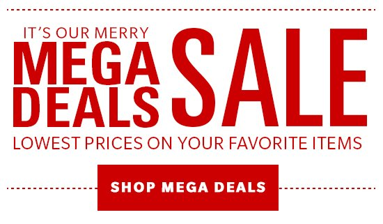 Shop Mega Deals